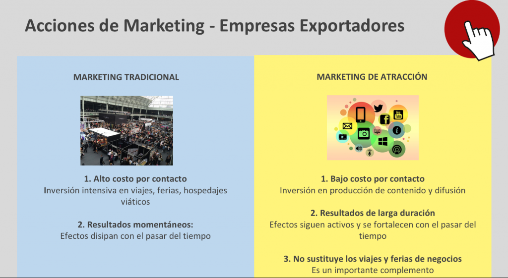 Cuandro Marketing Digital Empresas Exportadoras